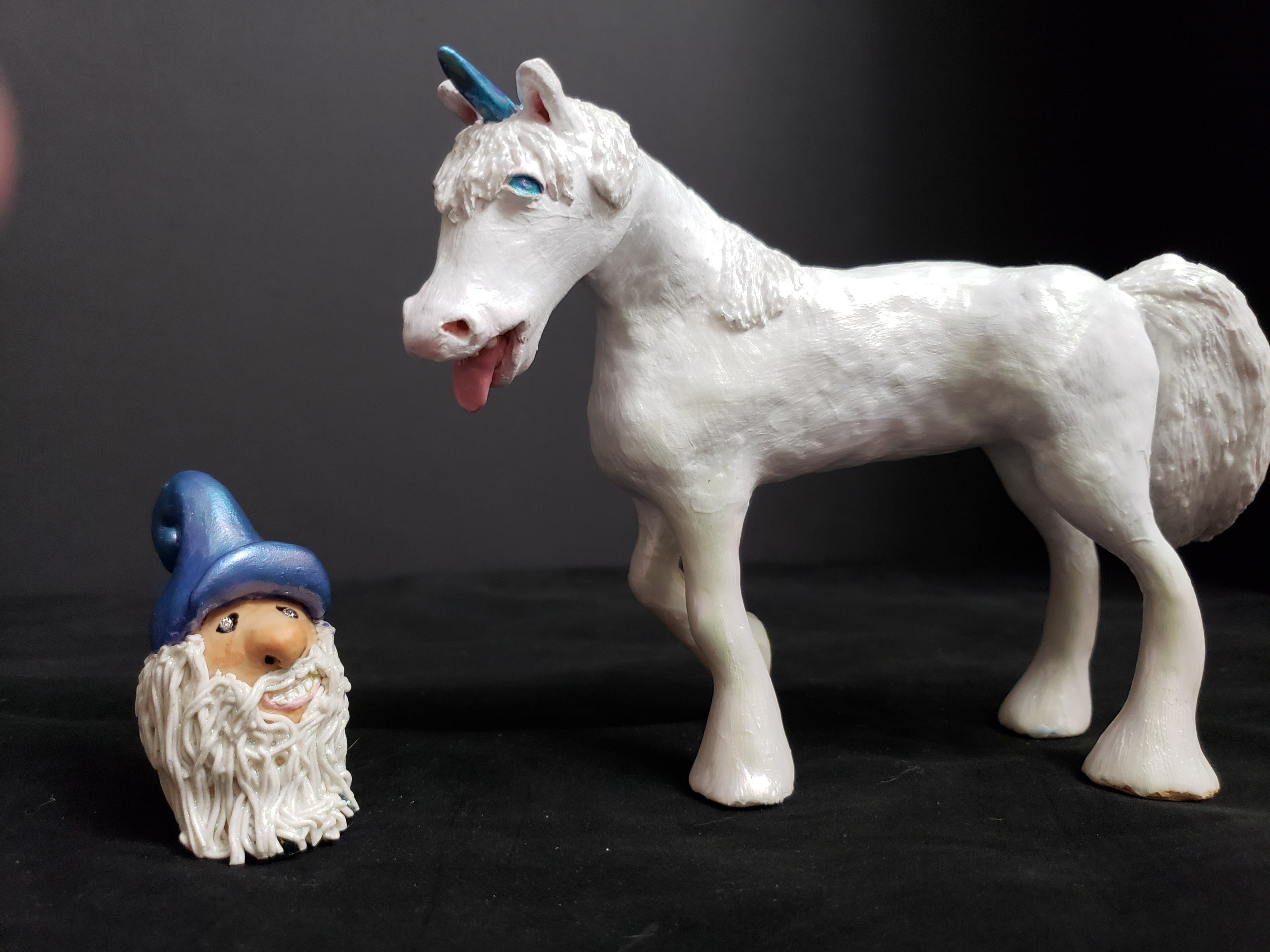 Unicorn and Gnome