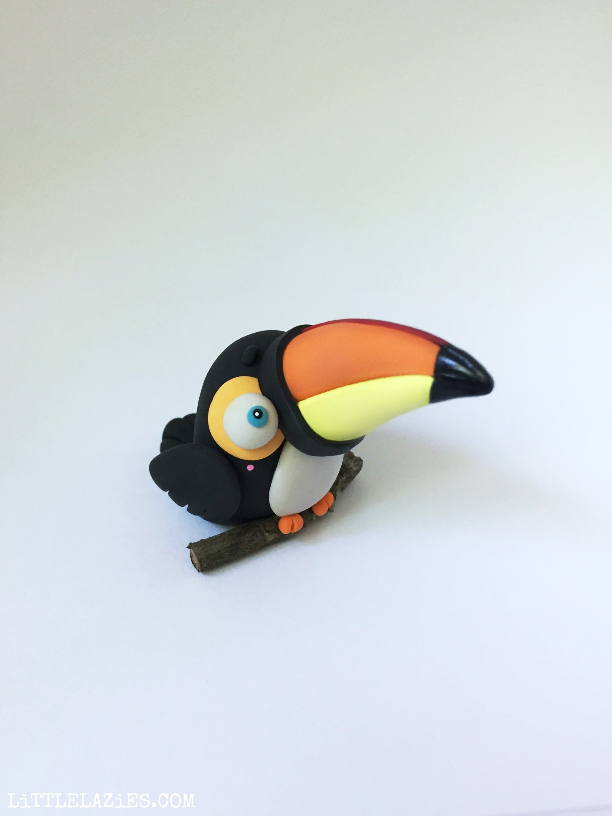 Perched Toucan