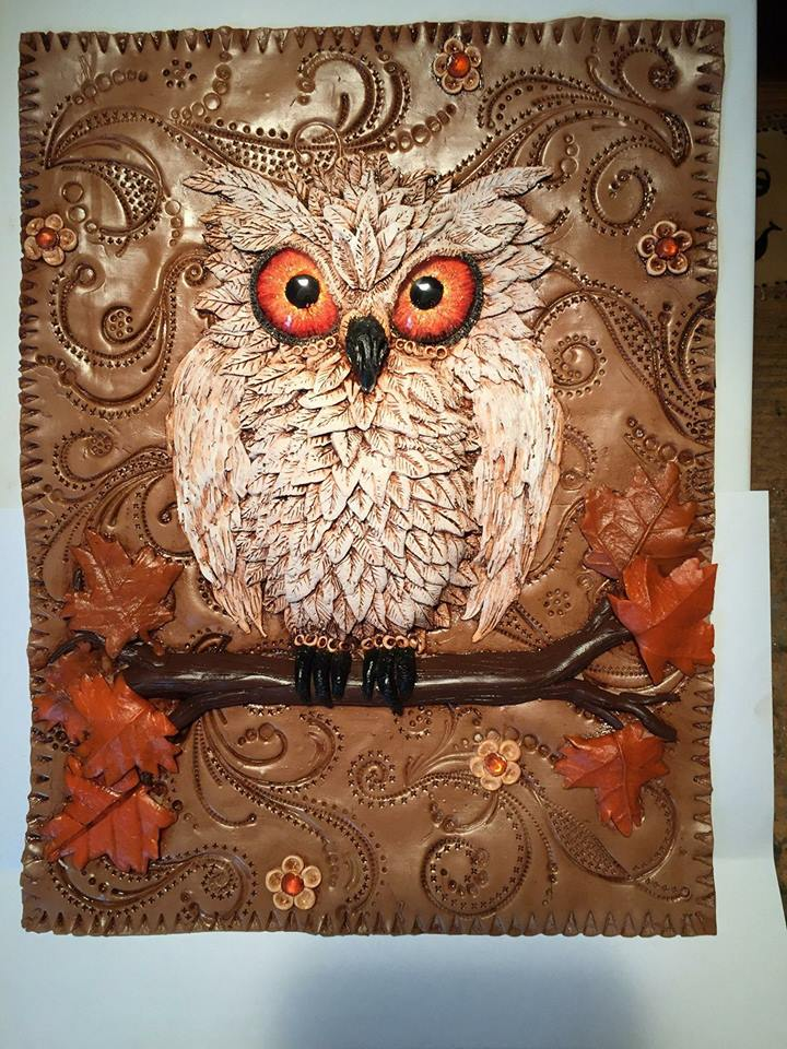 Owl Journal Cover