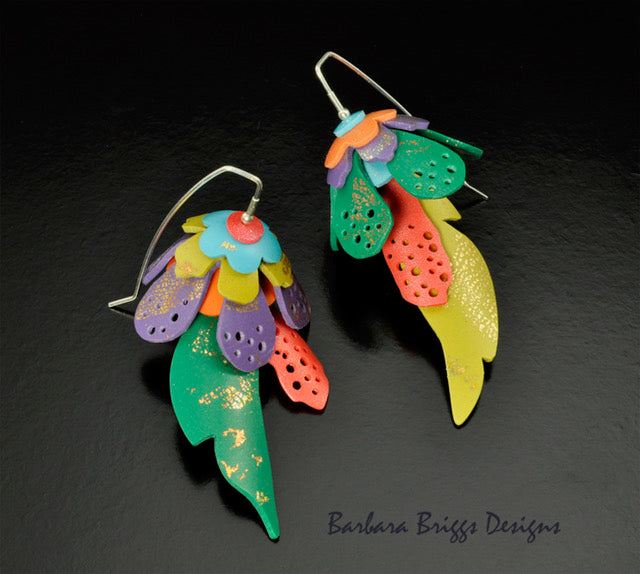 Matisse Inspired Cutouts Earrings