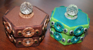 Sculpey Premo! Ornate Paperclip Box (Gretchen  Amberg)
