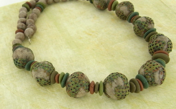 Premo! Mossy Covered Beads (Syndee Holt)