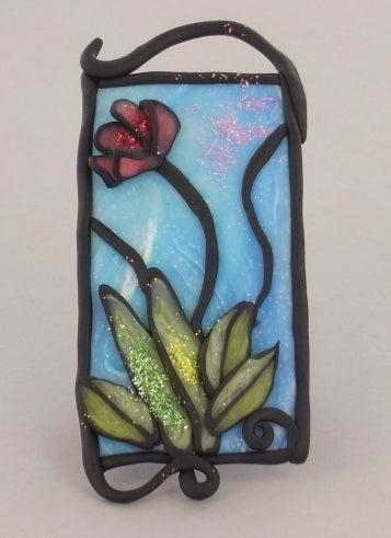 Premo! Stained Glass Pendant (Christi Friesen)