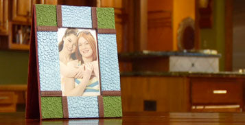Sculpey Project: Picture Frame (Amy Koranek)