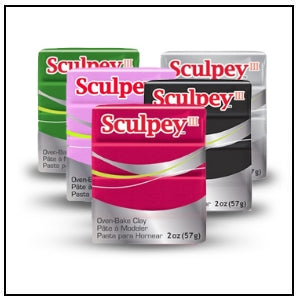 Sculpey III – 2 oz. bars