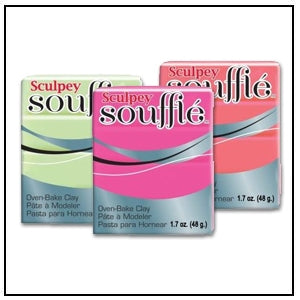 Sculpey Souffle – 1.7 oz bars