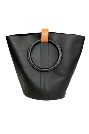 Myers Collective Small Round Bucket Black