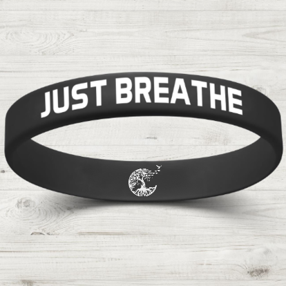 Just Breathe Wristband