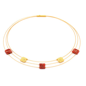 Bernd Wolf Aladune Red Coral Necklace 85025296
