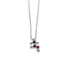 Slashpile Alcohol Molecule Necklace