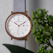Amelie Walnut Arctic Watch