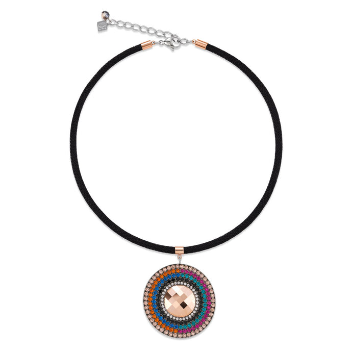 COEUR DE LION Multicolour Winter Amulet Necklace 4836/10-1541
