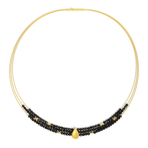 Bernd Wolf Aquinsa Black Spinel Necklace 84122496