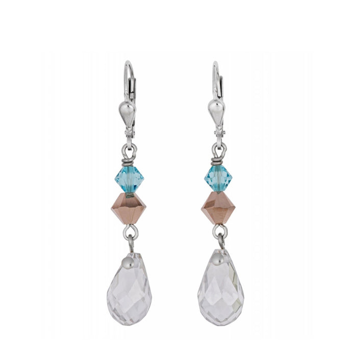 COEUR DE LION Aurora Borealis Crystal Earrings 4727/20-1821