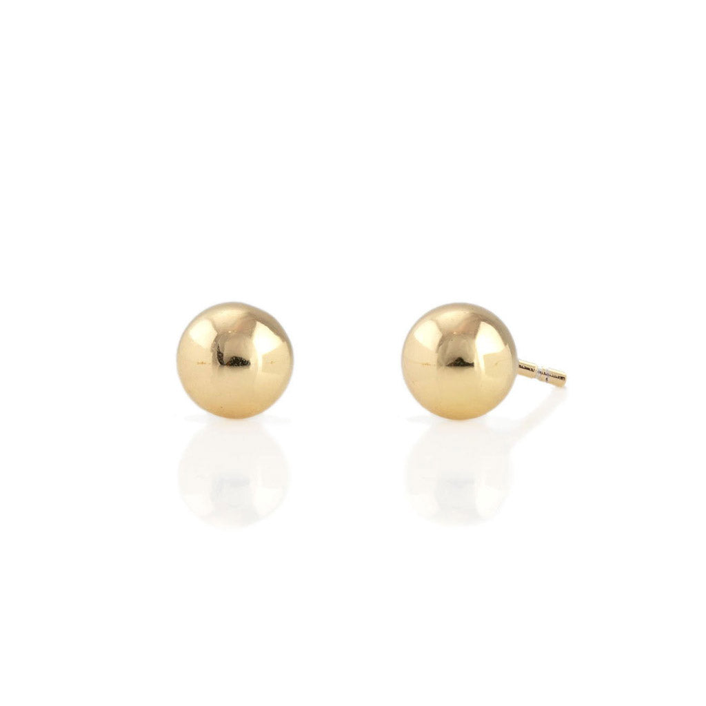 Kris Nations Ball Studs Gold E583-G