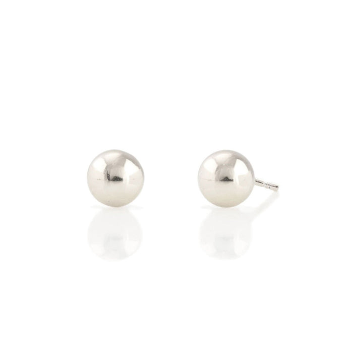Kris Nations Ball Studs Silver E583-S