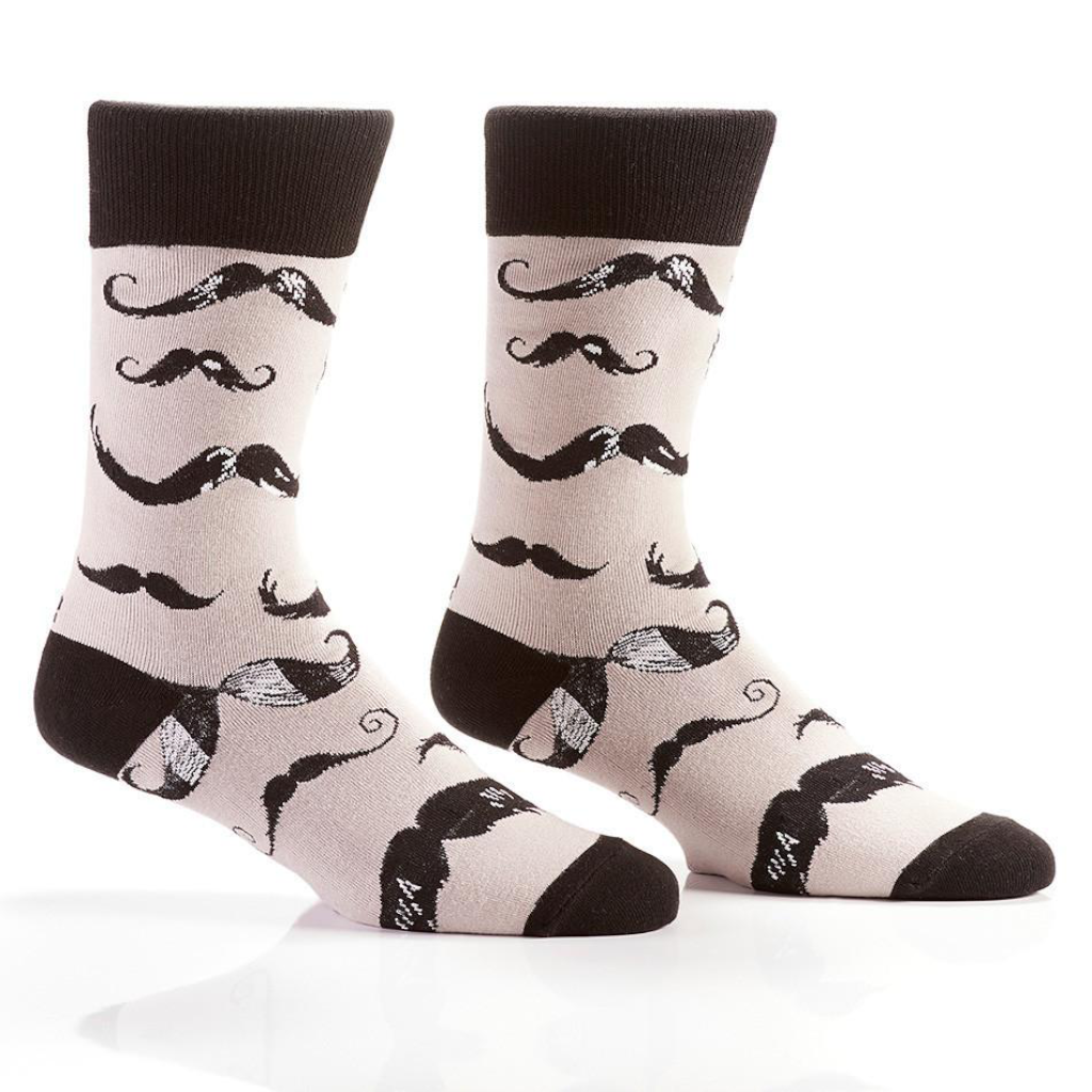 Yo Sox Barbershop Men's Crew Socks 410352