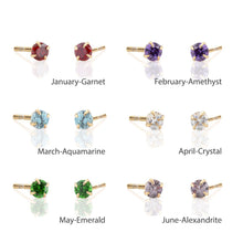 Kris Nations Birthstone Studs