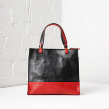 Uppdoo Black Carée Two-Tone Tote