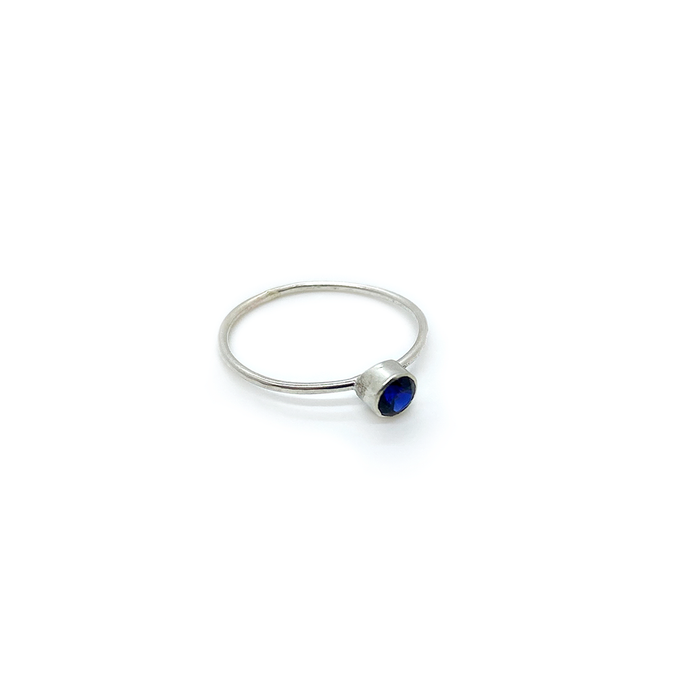 Slashpile Blue Spinel Lost & Found Ring
