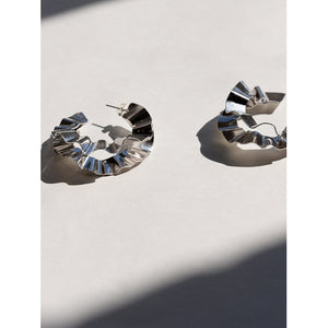 Michelle Ross Brio Silver Earrings LE17