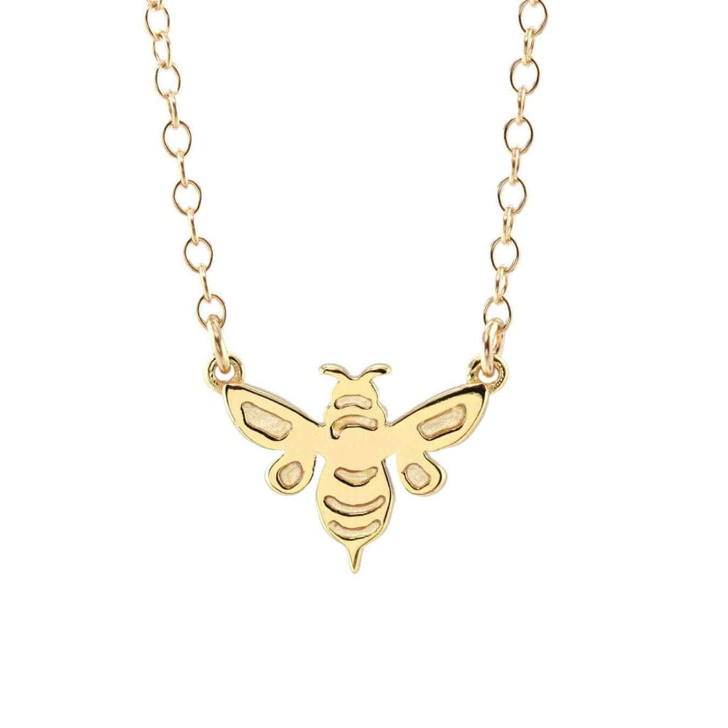 Kris Nations Bumble Bee Necklace Gold N761-G