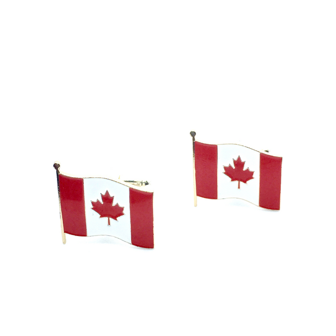 Cuff Stuff Canadian Flag Cufflinks CU0CF1