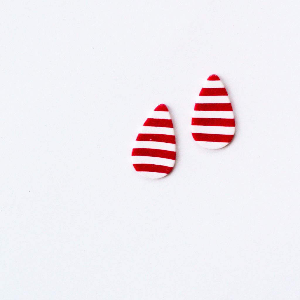 Slow Day Studios Stripe Studs