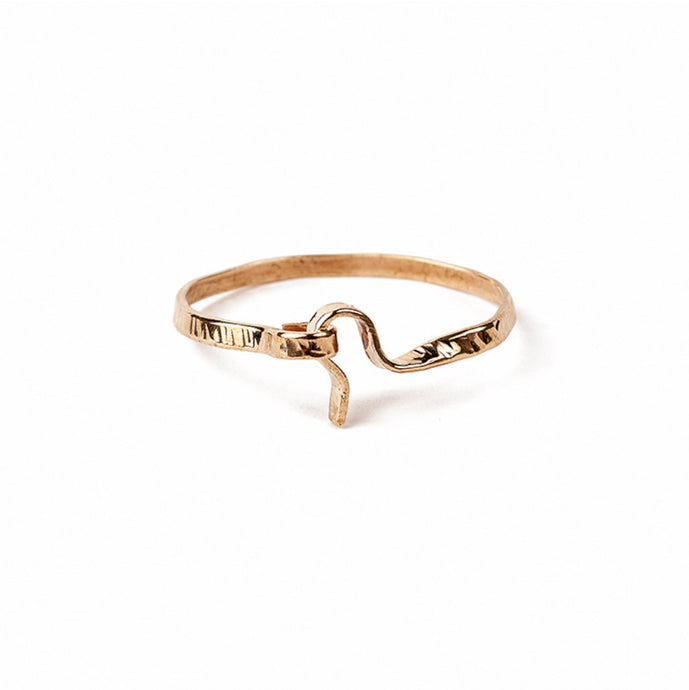 Michelle Ross Chloe Hammered Bracelet CB06