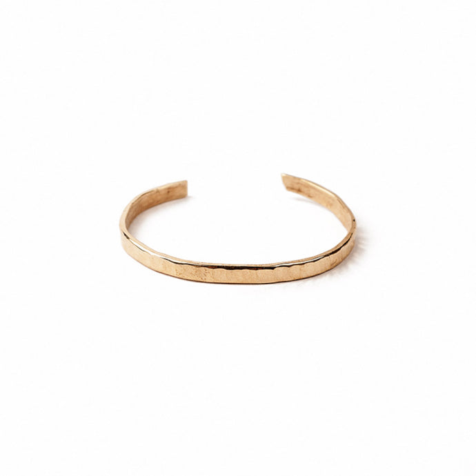 Michelle Ross Hammered Bangle CB07