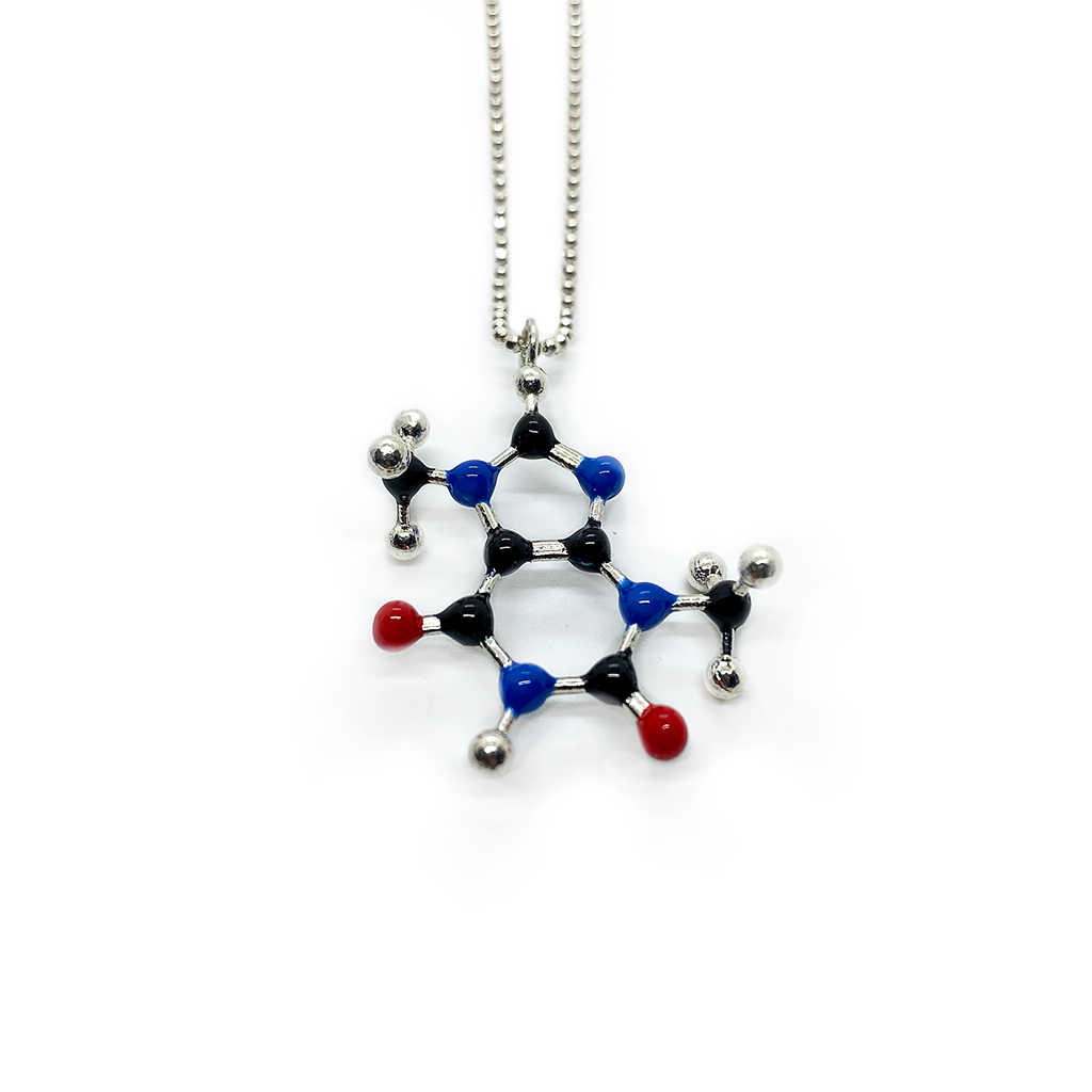 Slashpile Chocolate Molecule Necklace