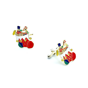 Cuff Stuff Christmas Stocking Cufflinks CU0XS1