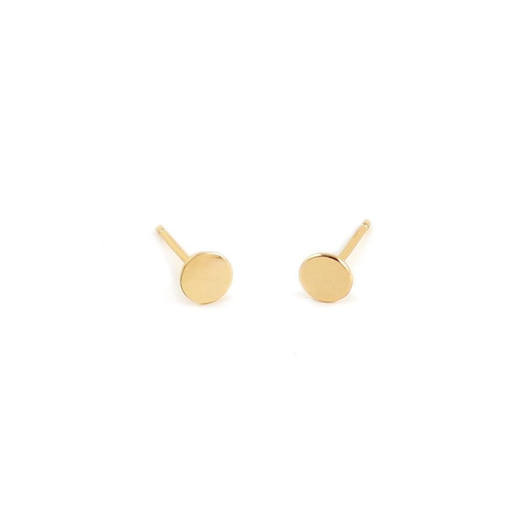 Kris Nations Circle Studs Gold E-CIRCLE-G