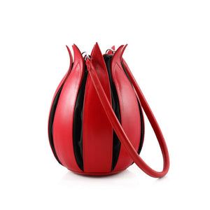 bylin Classic Leather Tulip Back Red Black 070111