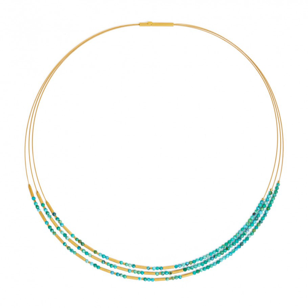 Bernd Wolf Clini Turquoise Necklace 85233256