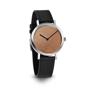 Pierre Junod Copper Leaf Watch