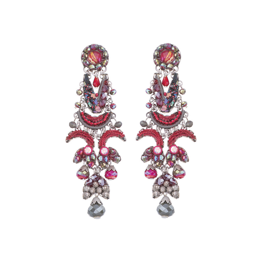 Ayala Bar Crimson Flame Talia Earrings C1154
