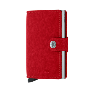 Secrid Crisple Red Miniwallet