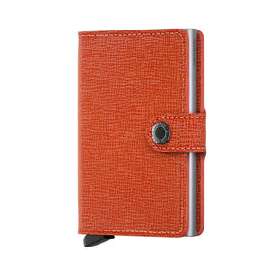 Secrid Crisple Orange Miniwallet