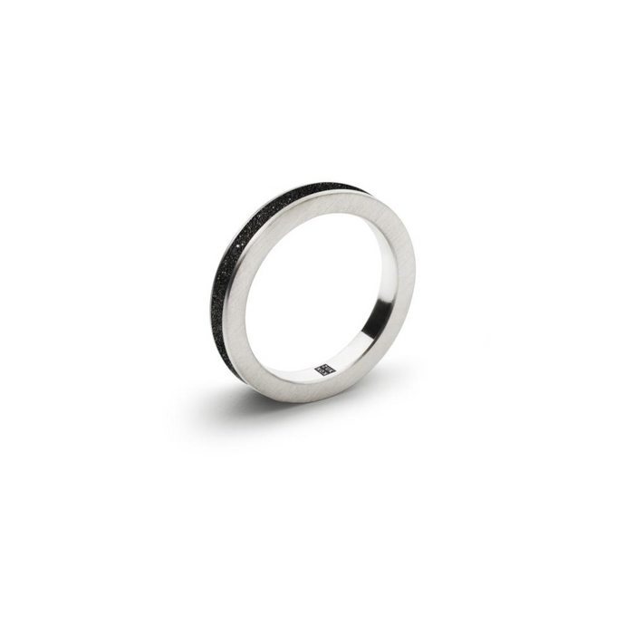 KONZUK Diamond Dust Concrete 3mm Ring KMR170DD