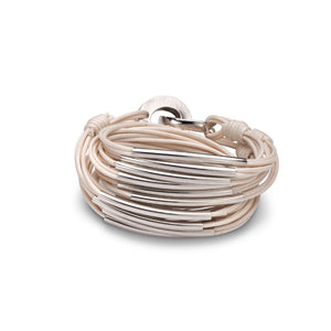 Two A Double C Bracelet BJB017-03SAND