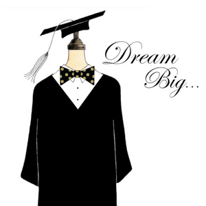 s.e. hagarman Dream Big Grad Gown Gift Enclosure GGE-81