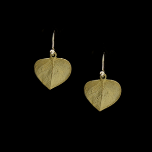 Silver Seasons Eucalyptus Leaf Earrings 4070BZ