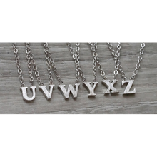 jj+rr Floating Letter Necklace 3N100