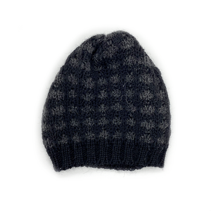 Northern Watters Flowerhead Beanie Toque Black/Charcoal 107FH20605