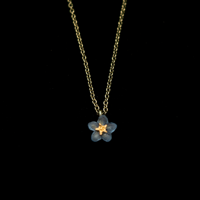 Silver Seasons Forget Me Not Pendant 9308BZ