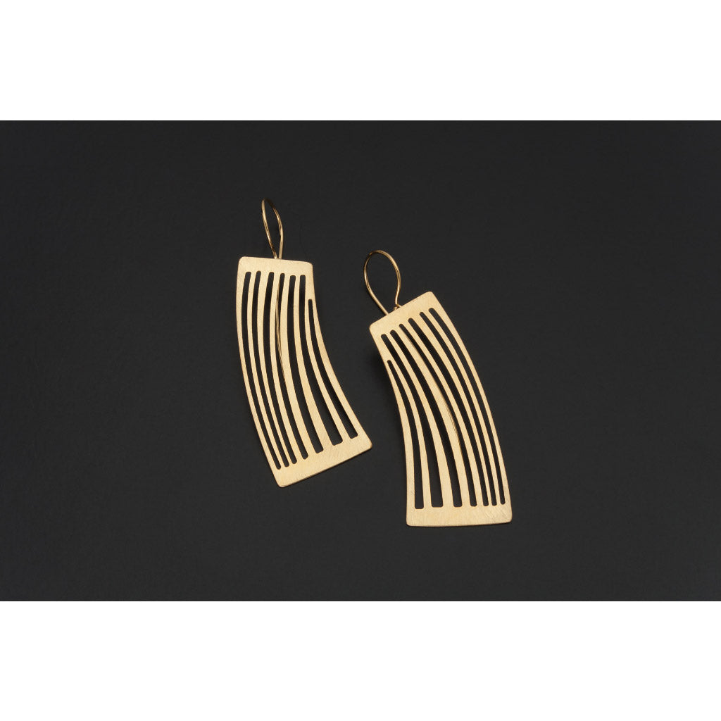 Deco Echo Gold Smudges Earrings 561512