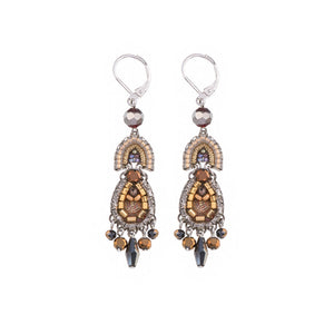 Ayala Bar Golden Fog Ritva Earrings C1142