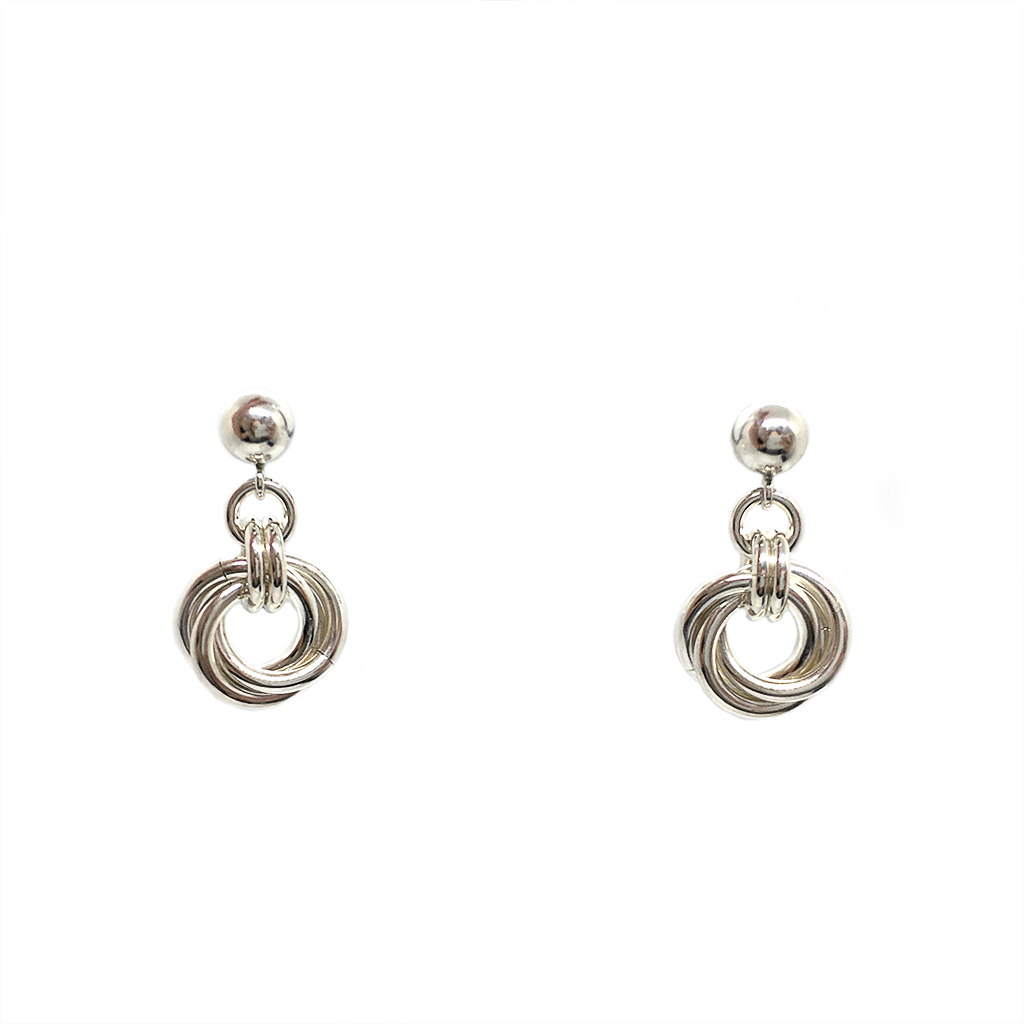 Lisa Ridout Half Love Knot Earrings
