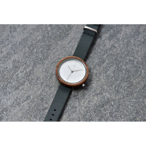 Kerbholz Hilde Walnut Slate Blue Watch 4251240411330